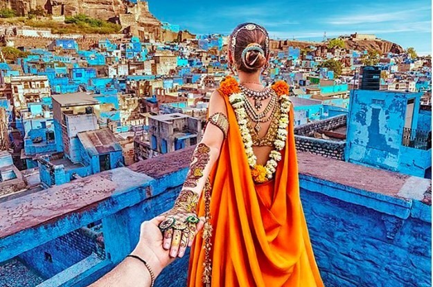 The Guy Who Photographs His Wife Around The World Just Instagrammed MORE Photos Of India