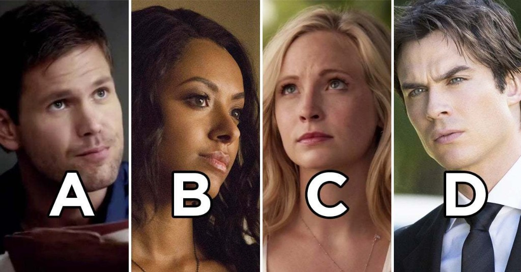 "This ""Vampire Diaries"" Universe A–Z Quiz Will Reveal Which Character Is Your Soulmate"
