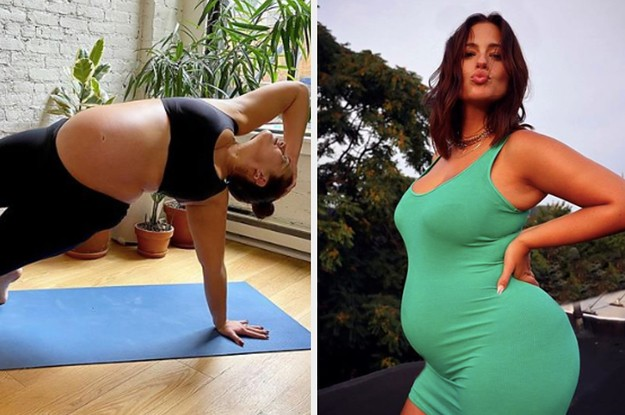 Ashley Graham Talked About Gaining 50 Pounds During Her Pregnancy And Mothers Are Applauding Her