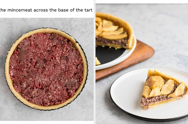 An American Food Website Got Confused About What Mincemeat Is And Accidentally Created A Ground Beef Apple Pie