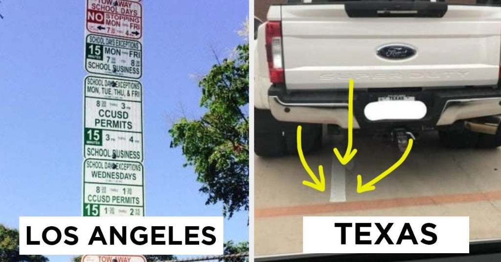 30 Pictures That Perfectly Sum Up The Difference Between Texas And LA