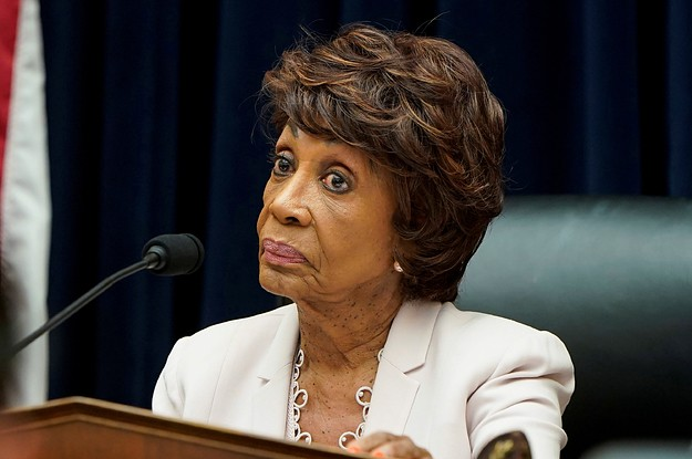 """Maxine Waters Says Mike Pence And The Attorney General Were Involved In The Ukraine """"Conspiracy"""""""