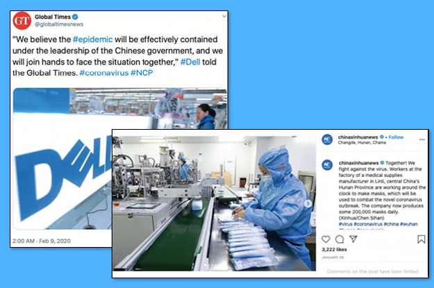 Chinese Propaganda Is Trying To Paint The Country As A Leader In Coronavirus Response