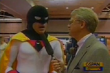 The Time C-SPAN Interviewed Space Ghost