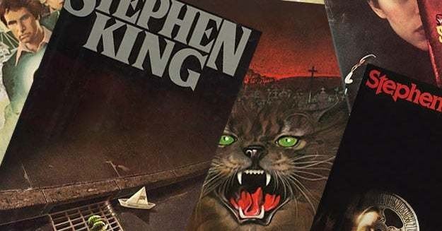 Only A Bookworm Can Score 8/8 On This Stephen King Book Cover Quiz