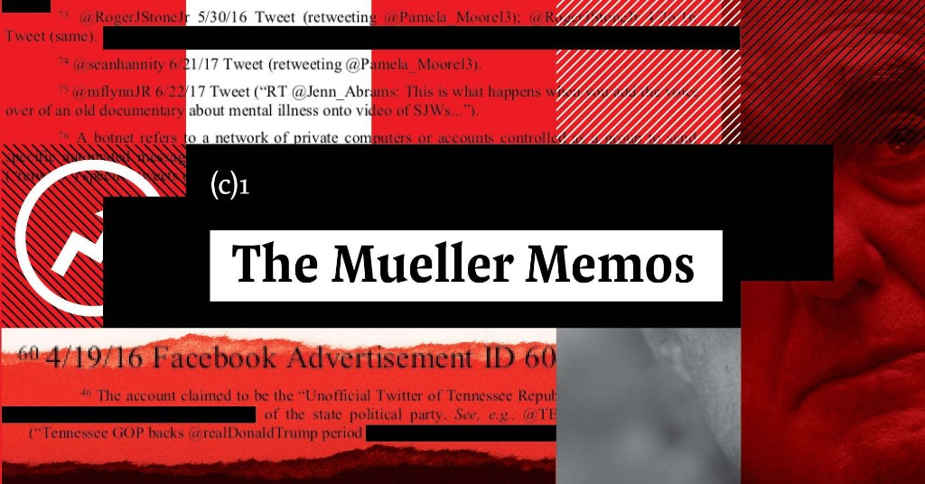 Mueller Memos Part 7: These Documents Reveal What People Close To The President Told Mueller's Team About Trump And Russia