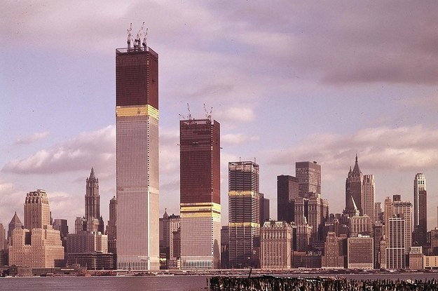 America's Most Iconic Landmarks Before They Were Finished