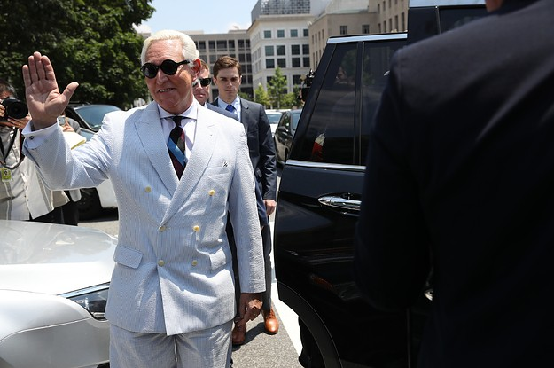 Roger Stone Lost His Appeal Of The Gag Order Barring Him From Posting On Twitter, Facebook, And Instagram
