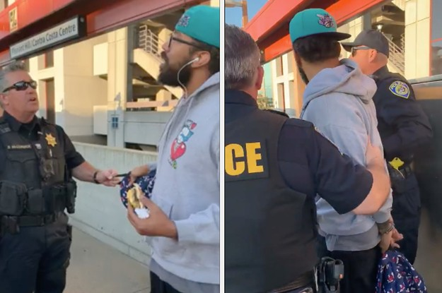 A Black Man Was Handcuffed For Eating A Sandwich At A Train Station. Officials Are Now Apologizing.