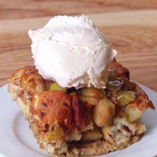 Apple Pie Bake Recipe by Tasty