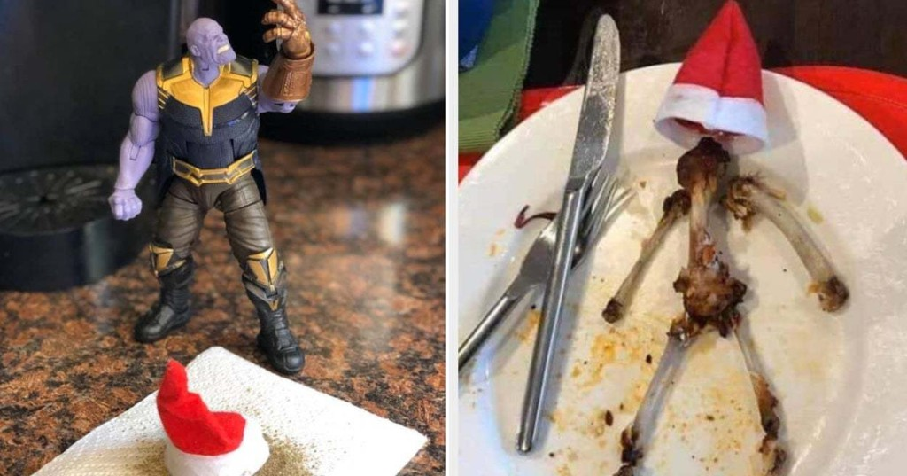 """21 """"For Adults' Eyes Only"""" Elves On The Shelf That Range From Mildly To Wildly Inappropriate"""
