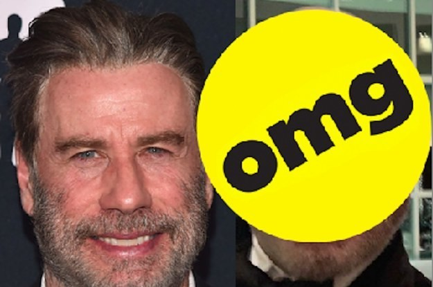 John Travolta Is Bald Now And It's Kinda Hot