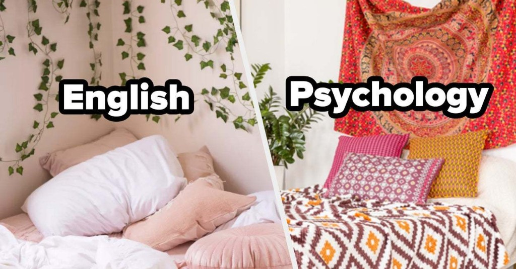 Design Your College Dorm And We'll Reveal What Three Majors Suit You Best