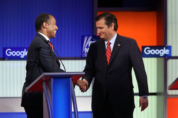 Ted Cruz Apologizes To Ben Carson For Campaign's Role In Dropout Rumors