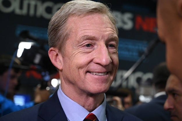 What The Hell Is Tom Steyer Doing On That Debate Stage?