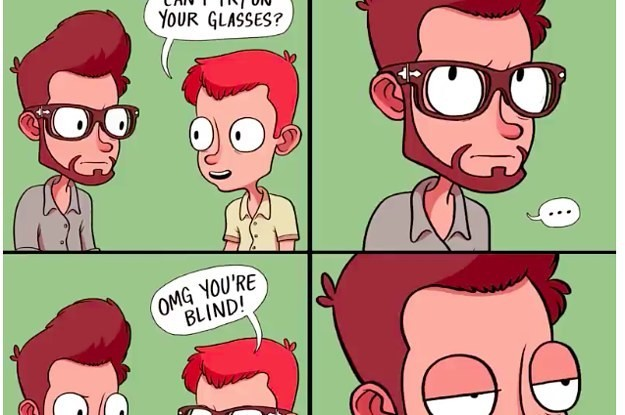 26 Things Most Glasses Wearers Secretly Wish They Could Do