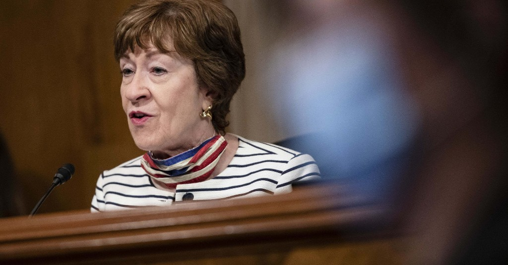 Susan Collins Is The First Republican To Say Whoever Wins The Election Should Fill Ginsburg's Seat