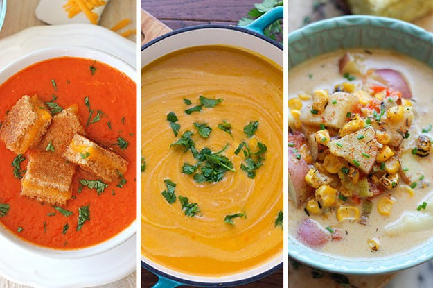 27 Delicious And Hearty Soups With No Meat