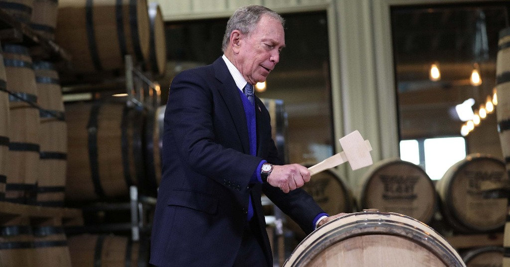 Super Tuesday Is When We Find Out If Michael Bloomberg Can Win His $500 Million Bet
