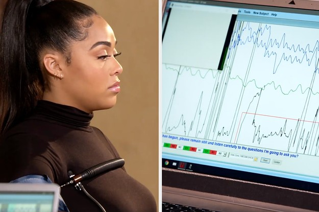 """Jordyn Woods Was Asked """"Did You Have Sexual Intercourse With Tristan Thompson?"""" While Hooked Up To A Lie Detector"""