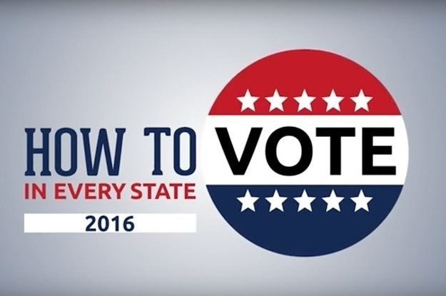 Here's How To Vote In Every US State