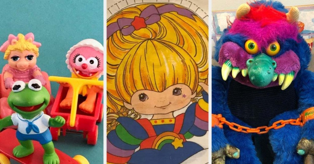 19 Toys '80s Kids Once Played With But Haven't Thought About In 25 Years Or Maybe Even Longer