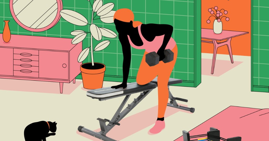 Ditch The Gym Membership With This Home Gym Equipment