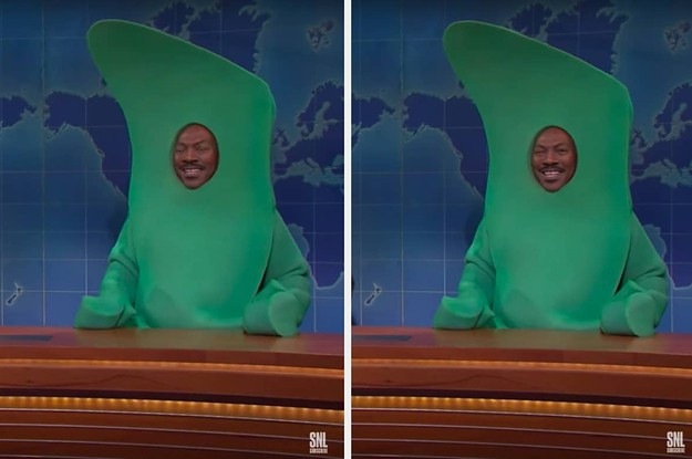 "Eddie Murphy Broke Character As Gumby On ""SNL"" During ""Weekend Update"" And I'm Howling"