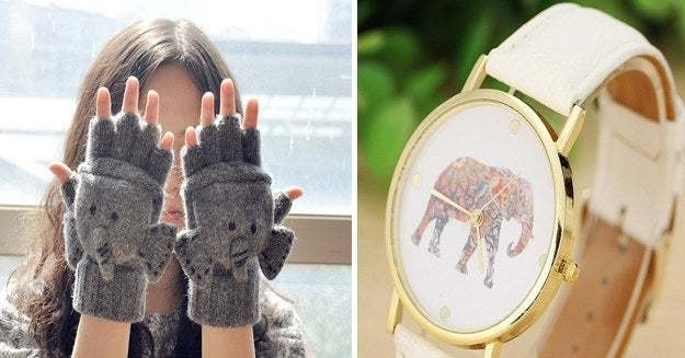 26 Gifts For People Who Love Elephants