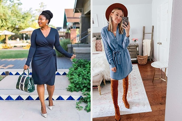 These 31 Fall Dresses From Amazon Are *So* Cute And We Have The Receipts To Prove It