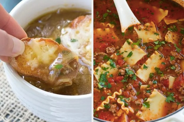 17 Cozy Soup Recipes That'll Make You Grateful For Fall Weather