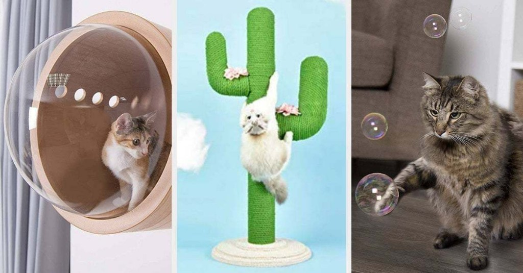 32 Things Even The Biggest Cat Lover Probably Doesn't Own Yet
