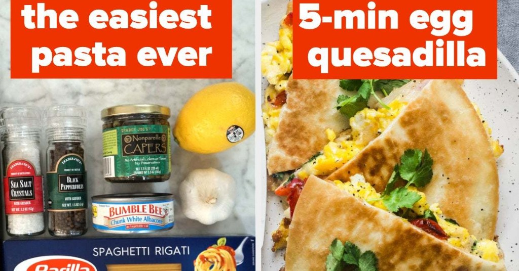 People Are Sharing Their Favorite Cheap And Easy Quarantine Meals, And I'm Definitely Taking Notes
