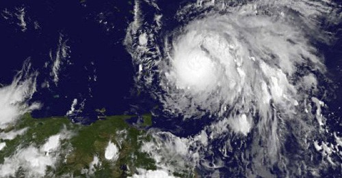 """Hurricane Maria Makes Landfall In The Caribbean As A """"Potentially Catastrophic"""" Category 5 Storm"""