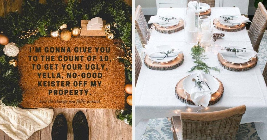 30 Of The Best Festive Decor Items To Spruce Up Your Home For The Holidays