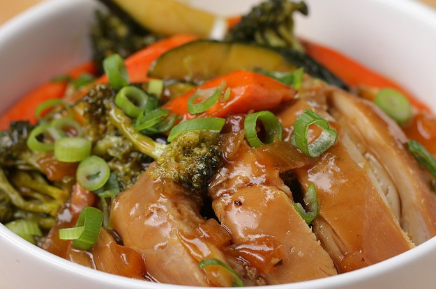 This Slow Cooker Teriyaki Chicken Is Such An Easy Dinner For When Life Gets Crazy