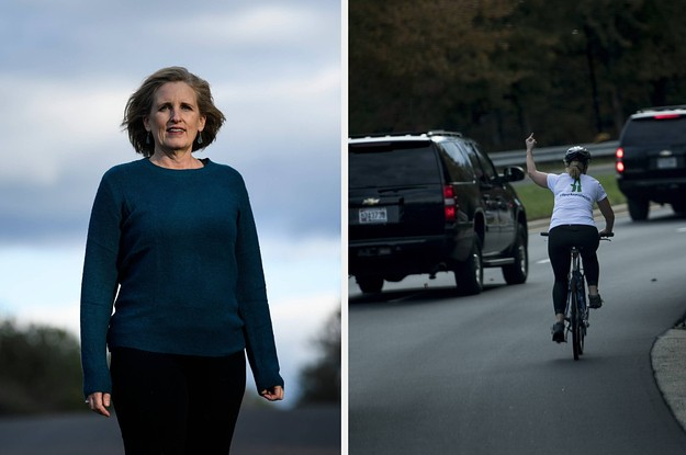 A Woman Who Was Fired For Flipping Off Trump's Motorcade Won An Election In Virginia