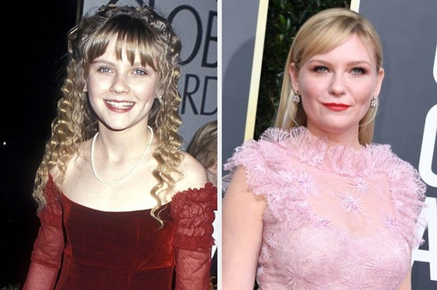 Here Are 23 Of The Most Dramatically Different Then-Vs.-Now Pics Of The Golden Globe Nominees
