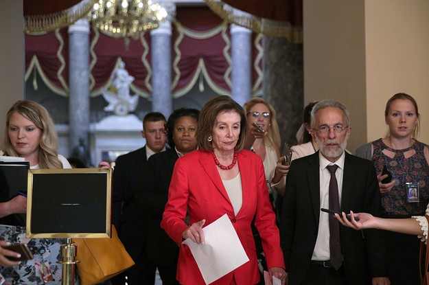 Nancy Pelosi Told Progressive Democrats To Stop Tweeting Their Complaints After She Complained About Them In The New York Times