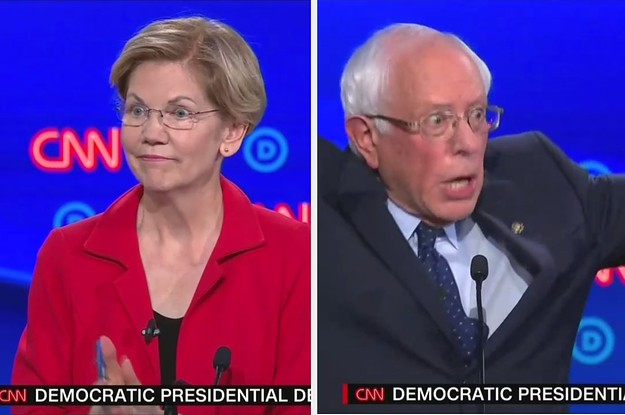 The Democratic Debate Gave Us Some Amazing GIFs — Here Are The Best, You Are Welcome