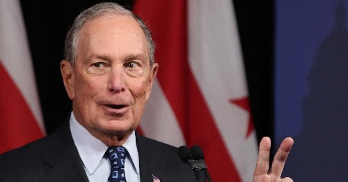 2020 Presidential Primary: Mike Bloomberg - cover
