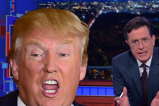 Enraged About Donald Trump's Comments? Don't Worry, So Is Stephen Colbert