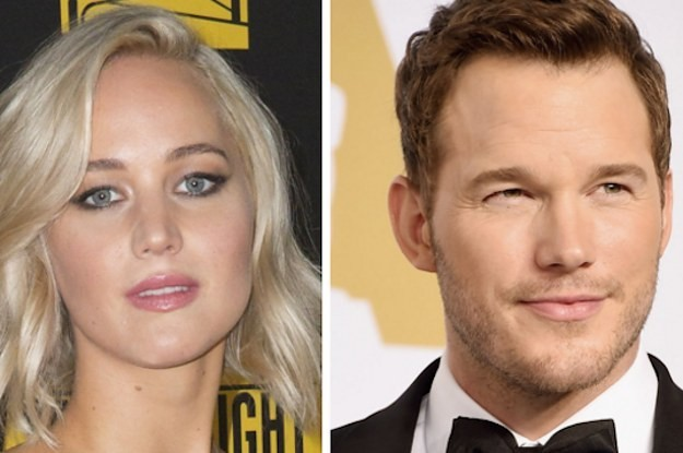 Chris Pratt And Jennifer Lawrence Called Anna Faris From Their Movie Set