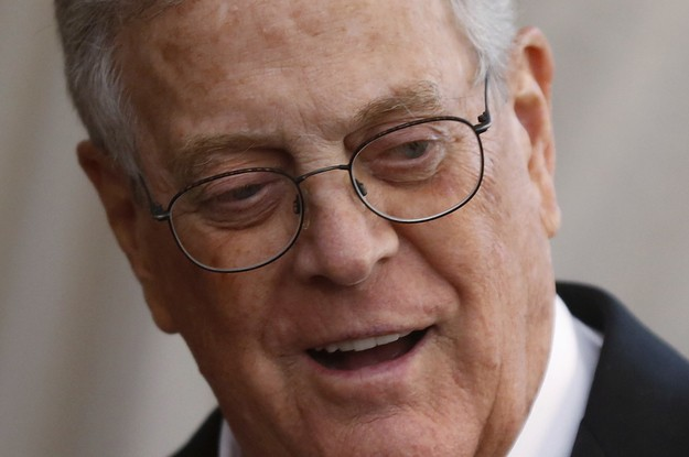 Billionaire David Koch, Who Shaped Modern Conservative Politics, Has Died