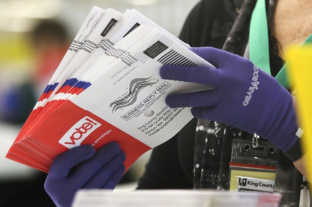 A Mail Carrier Took People's Absentee Ballot Requests And Switched Their Party To Republican
