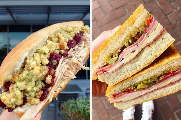 Every State Is Known For Having A Sandwich Staple — Here's Yours