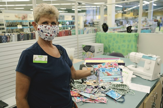 Jo-Ann Staff Said The Free Masks Kits Are A Mess Designed To Keep The Stores Open