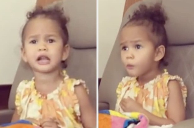 "Chrissy Teigen's Daughter Is Very Passionate About Her Beliefs On Being ""Cute"" Vs. ""Beautiful"""