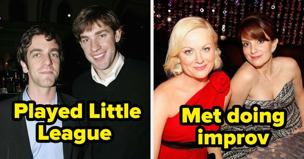 35 Celebs Who Knew Each Other Before They Were Famous