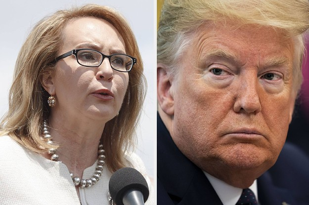 "Gabby Giffords' Group Condemned Trump For Sharing A Video Saying ""The Only Good Democrat Is A Dead Democrat"""